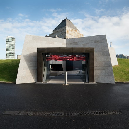 Shrine Visitor Centre - The Visitor Centre at the Shrine of Remembrance, Melbourne, by ARM Architecture
