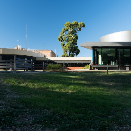 Echuca Library - Echuca Library on the banks of the Murray River.