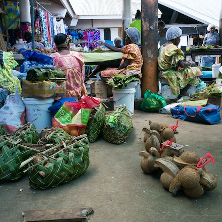 Port Vila Market - The fresh food market in Port Vila, Vanuatu