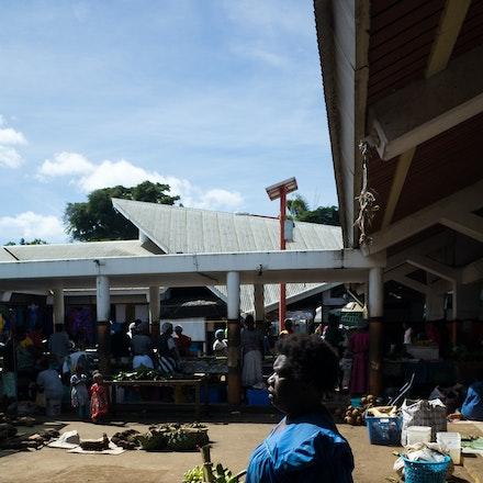 Woman at Port Vila Market - Port Vila Market, Vanuatu
