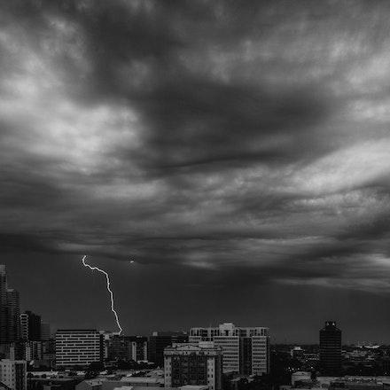 Big Sky - Lightening Over Port Philip Bay