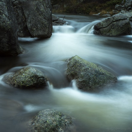 Rocks - A river in Falls Creek, Victoria
