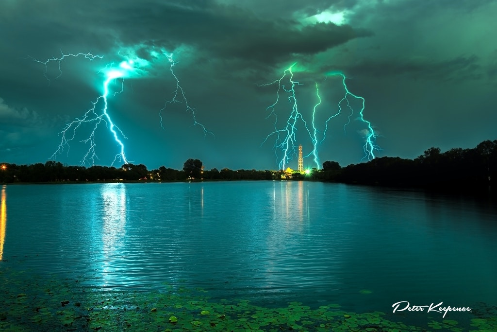 Wild Night Lake Jabiru #100