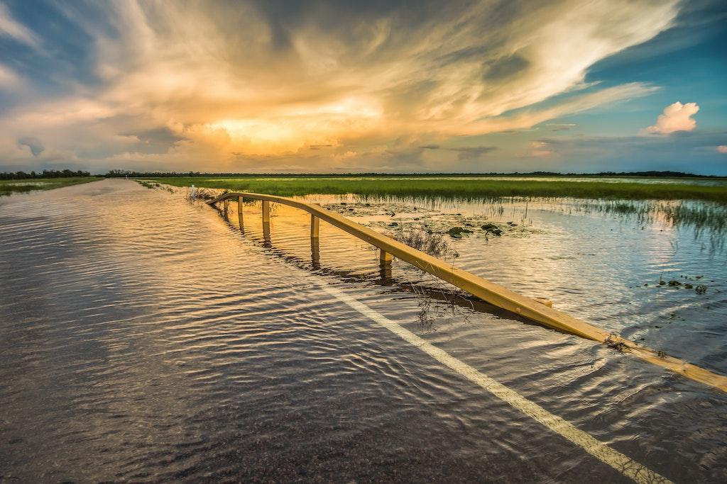 South Alligator Wet Season Arhnem Hwy #200