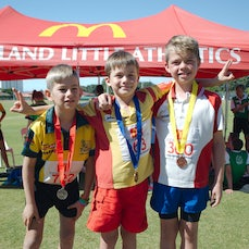 Little Athletics Winter Championship 2015 Medal presentations and March past - Medal presentations over both days. If I have missed anyone, please let...