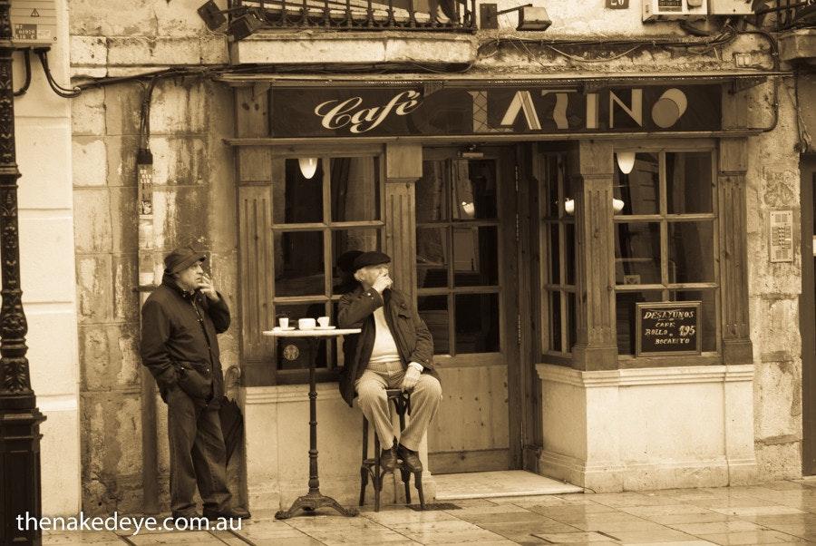 Morning coffee, Burgos - Burgos