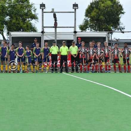Div 1 Final - BRIS 1 & ROCKHAMPTON - 2016 QLD U15 Champs - 2016 QLD Under 15 Hockey Grand Final in Mackay between Brisbane 1 and Rockhampton.