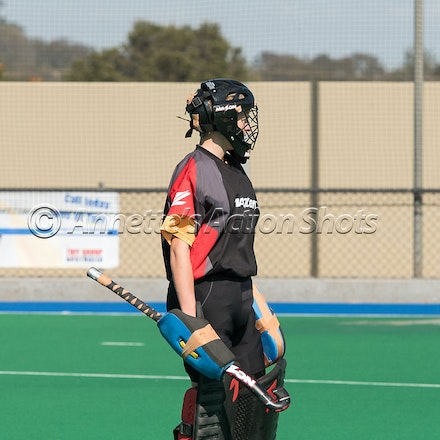 CONCORDIA & ST MARY'S TWMBA - Qld All Schools Hockey - game between Concordia Lutheran College and St Mary's College Toowoomba