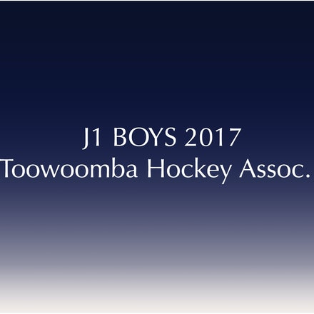 J1 Boys - 2017 Toowoomba Hockey Association