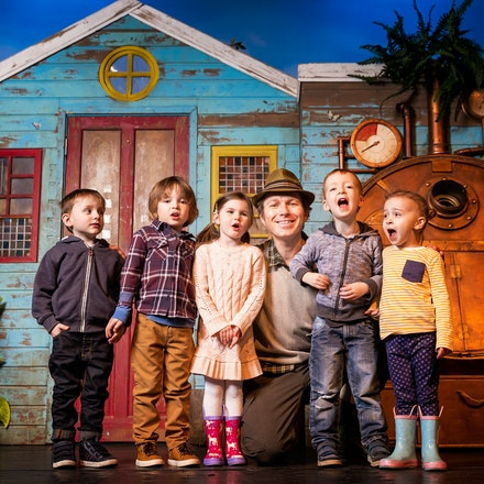 CBeebies Star 'Mr Bloom' - CBeebies 'Mr Bloom' and some Tiddlers