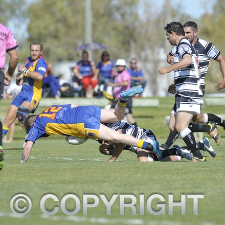 150905 CWRL Devils V Magpies - CWRL Semi Final played in Winton