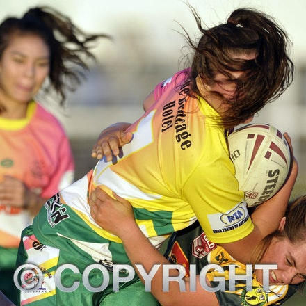 150912 CWRL Grand Final Day: Fillies V Barbarians - Central West Fillies v Barbarians ladies rugby league.