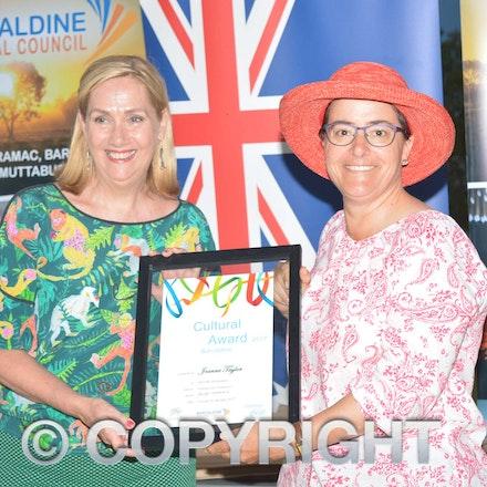 170126_DSC_7889 - Barcaldine Cultural Award: Joanne Taylor.