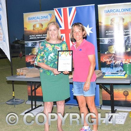 170126_DSC_7897 - Certificate of recognition: Elizabeth Ferguson.