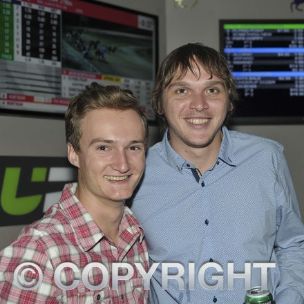 170204_SR27010 - Lochie and Josh Smith at the Longreach RSL Meet and Greet, Saturday February 4, 2016.   sr/Photo by Sam Rutherford