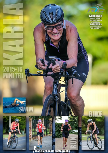 Poster - Triathlons