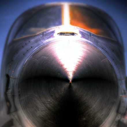 Nasty   6.1.2016.5 - Nasty. An intimidating close-up of a B-1B Lancer at Ellsworth Air Force Base in South Dakota. #airplanes #aircraft #jets #b-1bomber...
