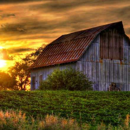 Buildings, Barns, Windmills, Churches and Fences