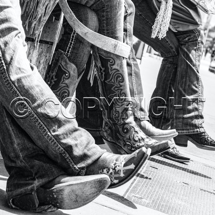 Boots - boots on the pavement