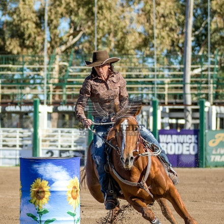 4D Barrel Race Warwick QLD 26th June 2016 - Fundraiser for Warwick Rodeo Queen Entrant, Ashleigh Grant