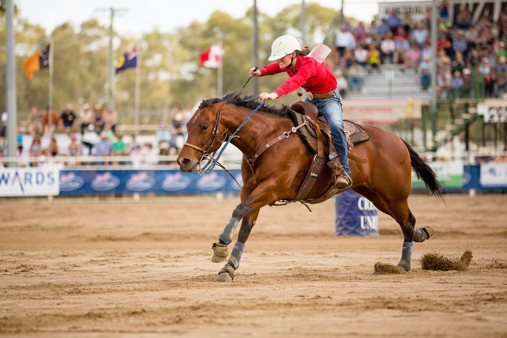 Storm Lahiff Photographer_SUN 29 OCT 17_Barrel race_-8 - Ellysa Kenny -All round champion cowgirl