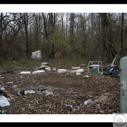 Destroyed Camp