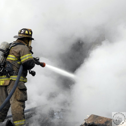 Knocking Down A Fire
