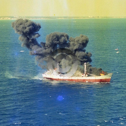 JED CARRIER 5868 - The Jed Carrier was sunk for an artificial reef offshore from Riviera Beach In 1996, it was funded by and now  known ans the Ande Line...