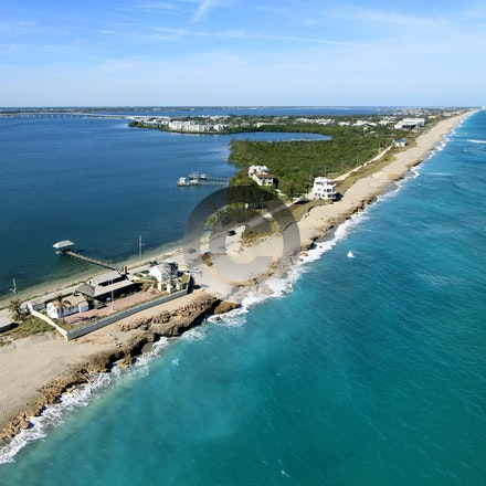 STUART & JENSON BEACH - Aerial Photos of Stuart, Jenson Beach, Hutchinson Island and Sewalls Point FL.