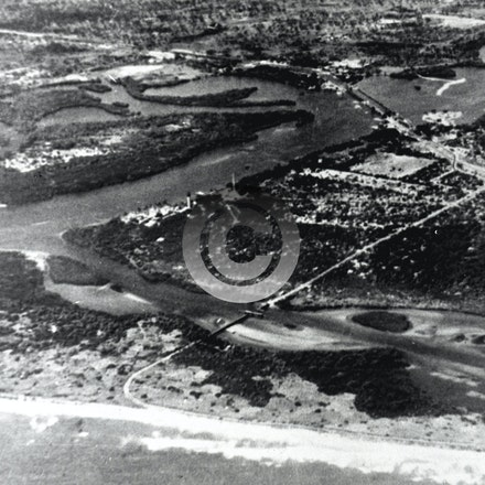 1920  JUPITER INLET A - Jupiter Inlet in the 1920's.