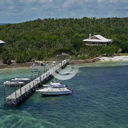 CRACKER P'S 3702-71A - Cracker P's, Lubbers Cay Abaco Bahamas.