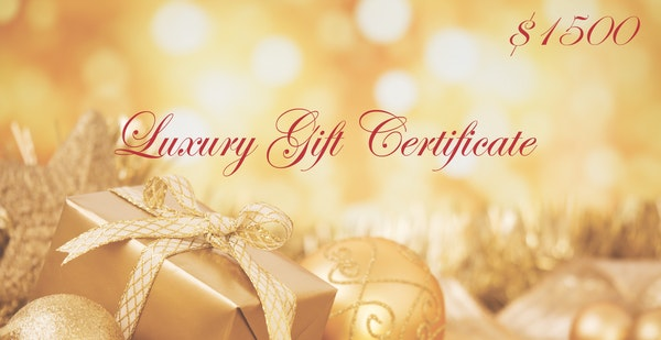 $1500 Gift Certificate - $1500 Gift Certificate towards a personal photo session and custom artwork designed by Tina Mahina.