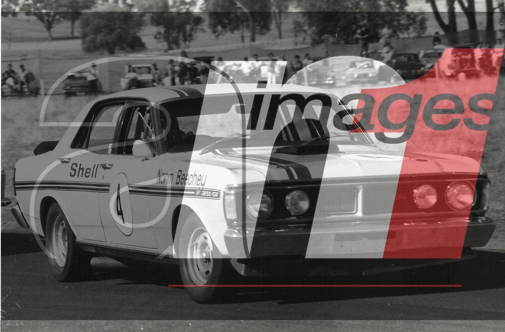 4 Beechey GTHO Ph 3 - Norm Beechey, Ford Falcon GT-HO.