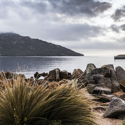 Coles Bay TAS. - Coles Bay on the east coast of Tasmania; a tourist haven and holiday destination for locals. Amazing scenery encapsulated by the Freycinet...