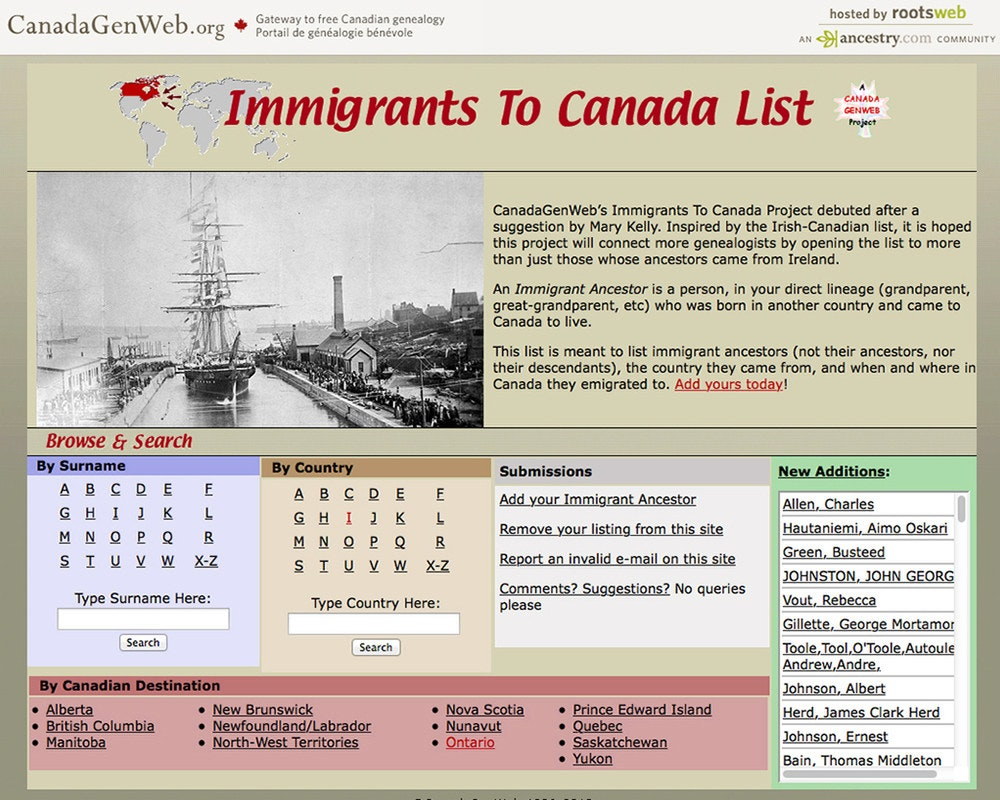 immigrants to canada 1