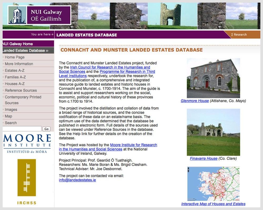 Landed Estates Database