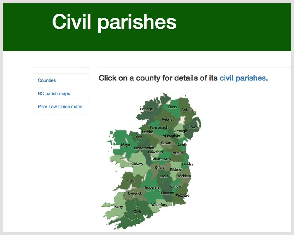Civil Parishes