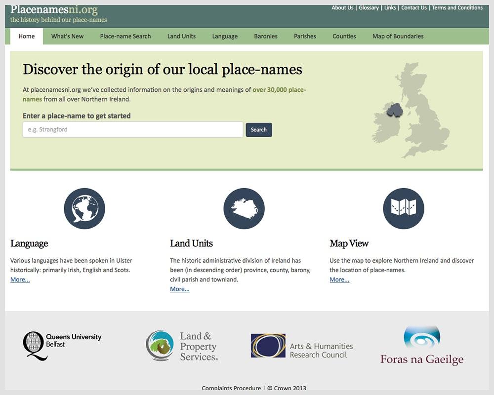 Placenamesni.org
