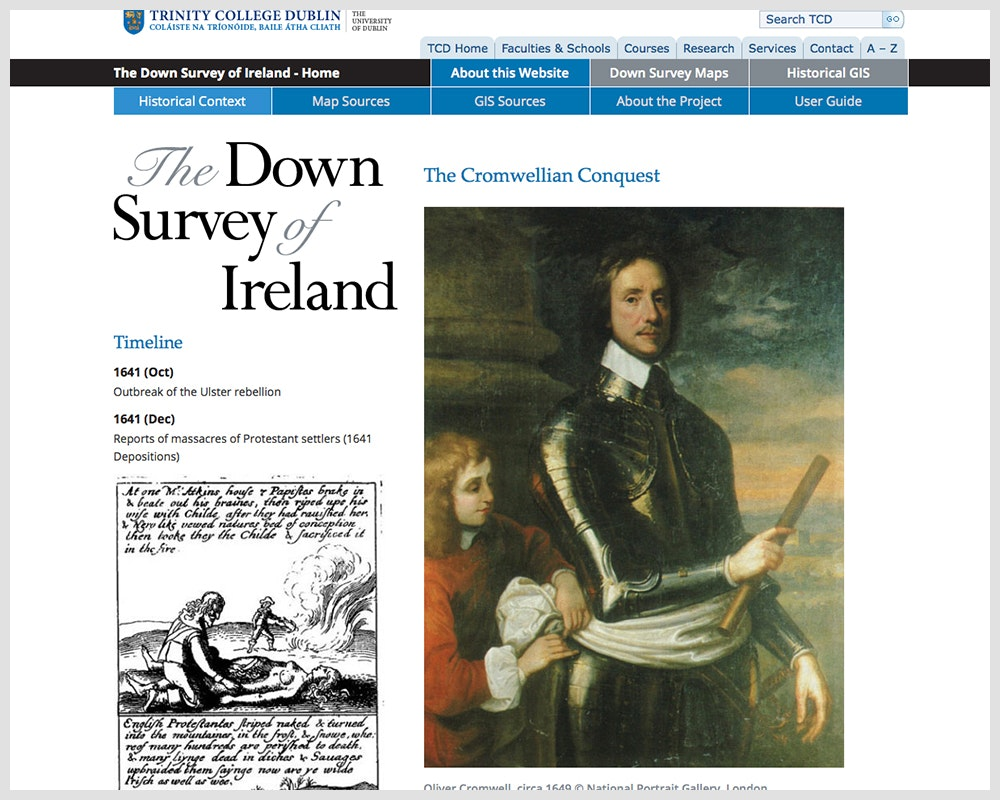 The Down Survey of Ireland1