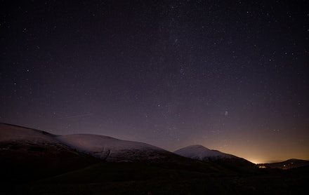 Starry night on Latrigg