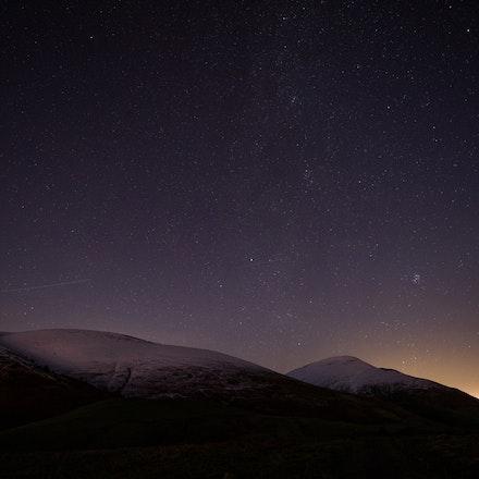 Starry night on Latrigg
