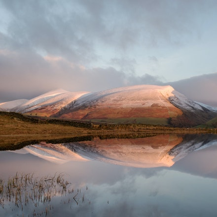 Dawn light on Skiddaw