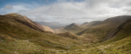 From Coledale Hause