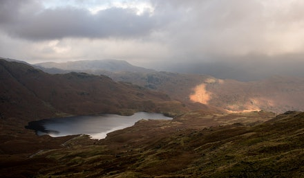 A view over Easedale tarn