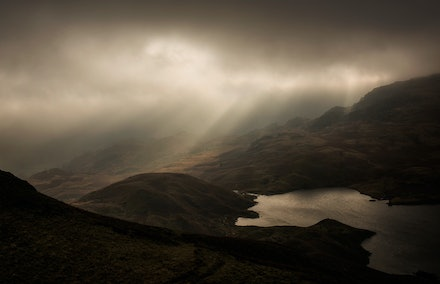 Light over Easedale Tarn