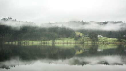 Reflecting the mist