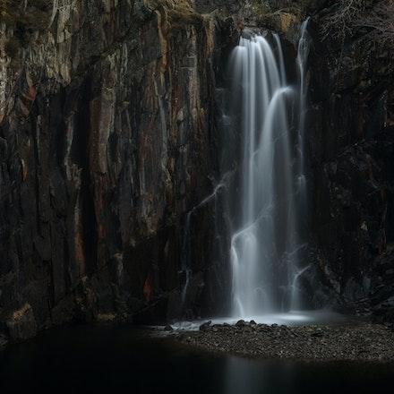 Banishead quarry falls