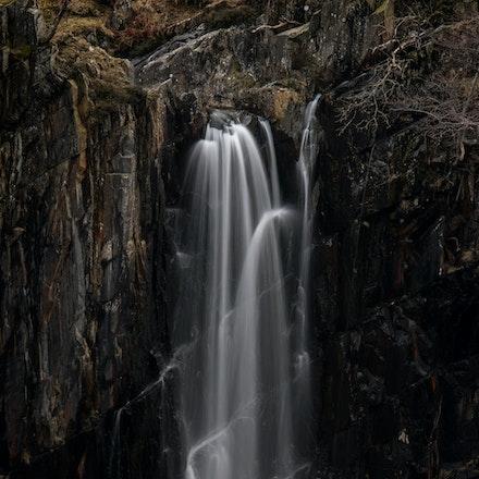 Banishead quarry waterfall
