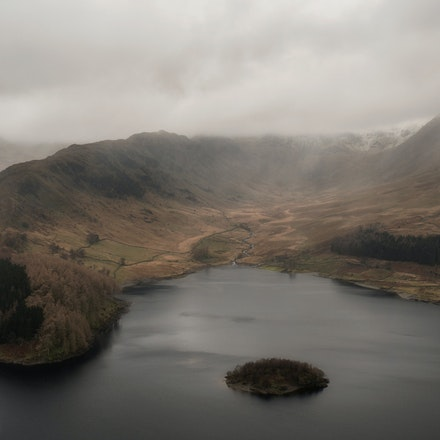 Rain over Haweswater