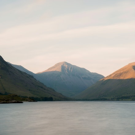 Just before sunset at Wastwater